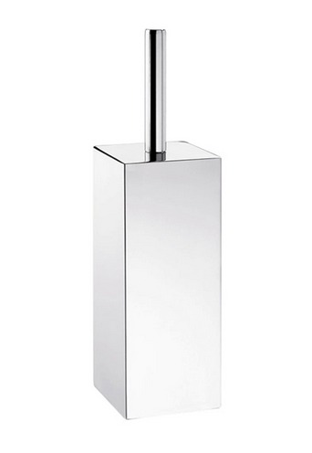 Gedy Colorado Nemesia Toilet Brush Freestanding Polished Stainless Steel NE33-13