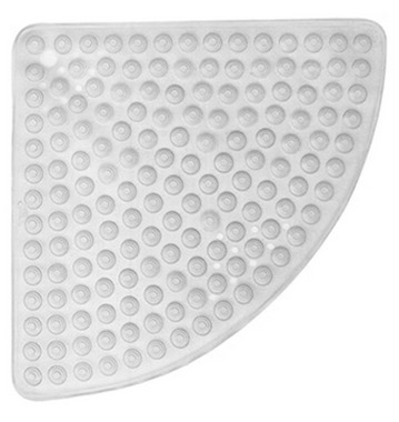 Gedy Funky Bubble Corner Shower Mat Clear 975858-00