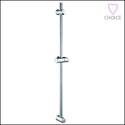 EuroShowers Euro Rail Kit Chrome Shower Set 57120