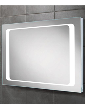 HiB Axis LED Back-Lit Mirror With Shaver Socket - 77417000