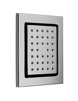Vado Tilting Square Shower Bodytile - WG-BODYTILE/SQ-C/P